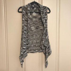 Papaya Grayish Sleeveless Cardigan Vest